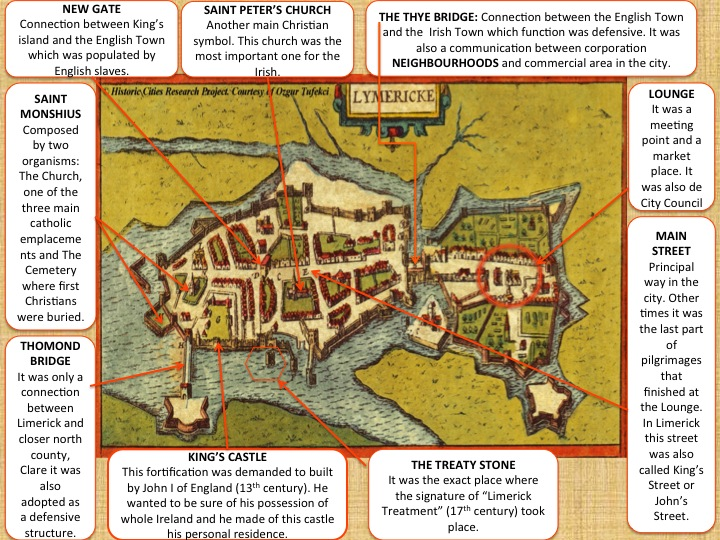 City of Limerick in 1670